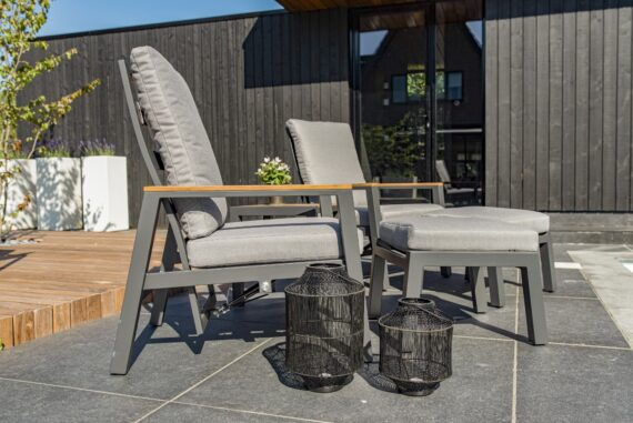 Lounge Duo Coba charcoal