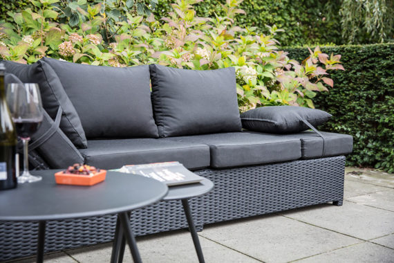 Lounge Liege Roma Black