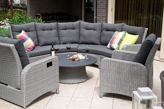Lounge Round Soha Brick